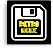 Retro Geek Canvas Print