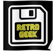 Retro Geek Poster