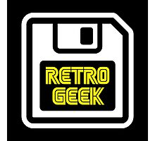 Retro Geek Photographic Print