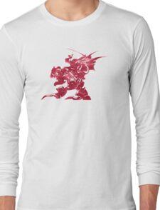 KEFKA FROM FINAL FANTASY VI Long Sleeve T-Shirt