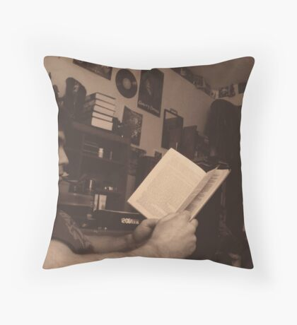 Andrew Reads Throw Pillow