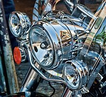 All that glitters is chrome ..... by Philip Golan