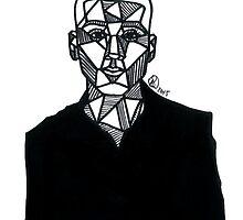 Geometric Zayn Malik  by Rosie Jo