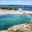 Abyss Pool, Yellowstone NP by Teresa Zieba