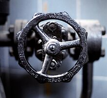 Industrial Valve - London by Roy Salter