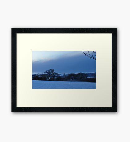 Evening Mystique Framed Print