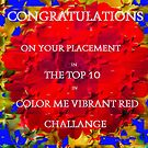 Banner Challange Vibrant Red by MaeBelle