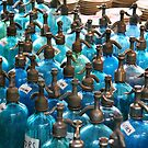 Blue Bottles by Christine Anna Wilson