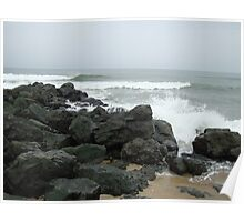 The Beach at Sea Girt, New Jersey Poster