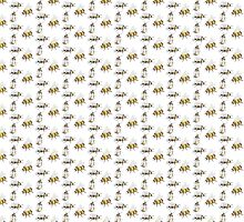 bumble bees by mooseandbear