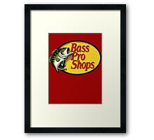 Bass Pro Shops - OG Big Bass Framed Print