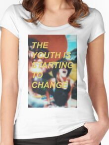 The Youth Women's Fitted Scoop T-Shirt