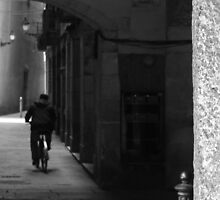 Backstreets, Barcelona by Andy Duffus