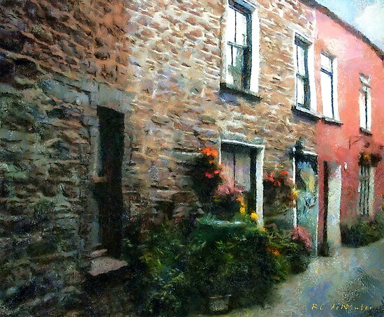 Old Pinchpenny Lane by RC deWinter