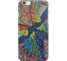 Mosaic butterfly iPhone Case/Skin