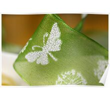 First Springtime Butterfly Poster
