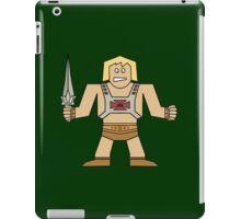 Flat He-Man iPad Case/Skin