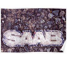 Saab Poster