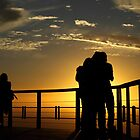 Sunset watchers by fortheloveofit