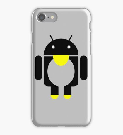 linux Tux penguin android  iPhone Case/Skin