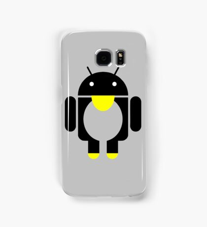 linux Tux penguin android  Samsung Galaxy Case/Skin