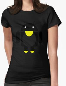 linux Tux penguin android  Womens Fitted T-Shirt
