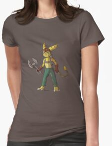 Ratchet & Clank Womens Fitted T-Shirt