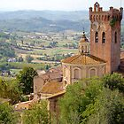 San Miniato, Tuscany, Italy by Robert Kelch, M.D.