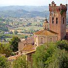 San Miniato, Tuscany, Italy by Robert Kelch, M.D.