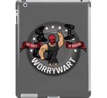 Worry Wary - The Voice Of Reason iPad Case/Skin