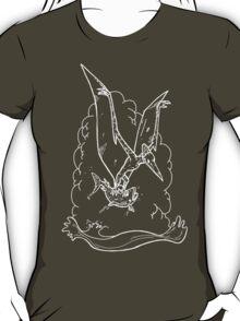 White Pterodactyl T-Shirt