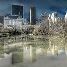 Glass reflection by Gouzelka