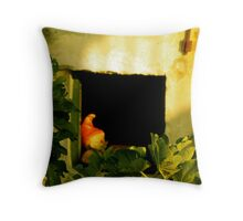 A lonely Dwarf Throw Pillow