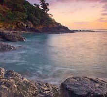 Coromandel Coast dusk by Paul Mercer