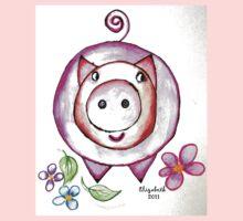 Piggy One Piece - Long Sleeve
