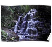 WENTWORTH FALLS NSW Poster