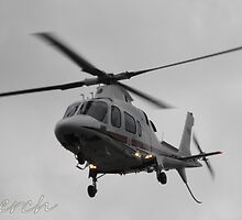 Royal Air Force Queen's Flight Helicopter by lerch