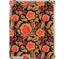 The Khokhloma Kulture Pattern iPad Case/Skin