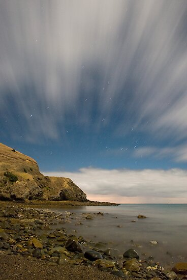 One more Goat Bay night shot by Paul Mercer
