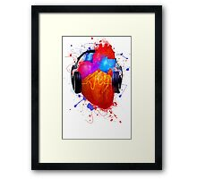 No Music - No Life Framed Print