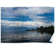 A Perfect Summer Day - Lake Ontario in Toronto, Canada Poster