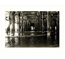 Under the Pier (Clacton) Art Print