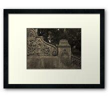 Bethesda - Relief 2 Framed Print