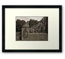 Bethesda - Relief 1 Framed Print