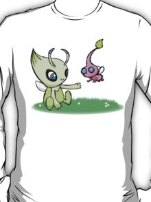 Celebi meets Flying Pikmin T-Shirt