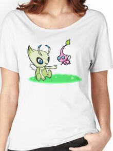 Celebi meets Flying Pikmin Women's Relaxed Fit T-Shirt