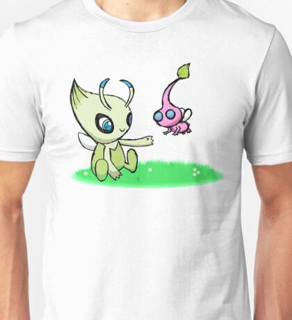 Celebi meets Flying Pikmin Unisex T-Shirt