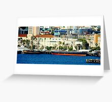 Sailing San Diego Greeting Card