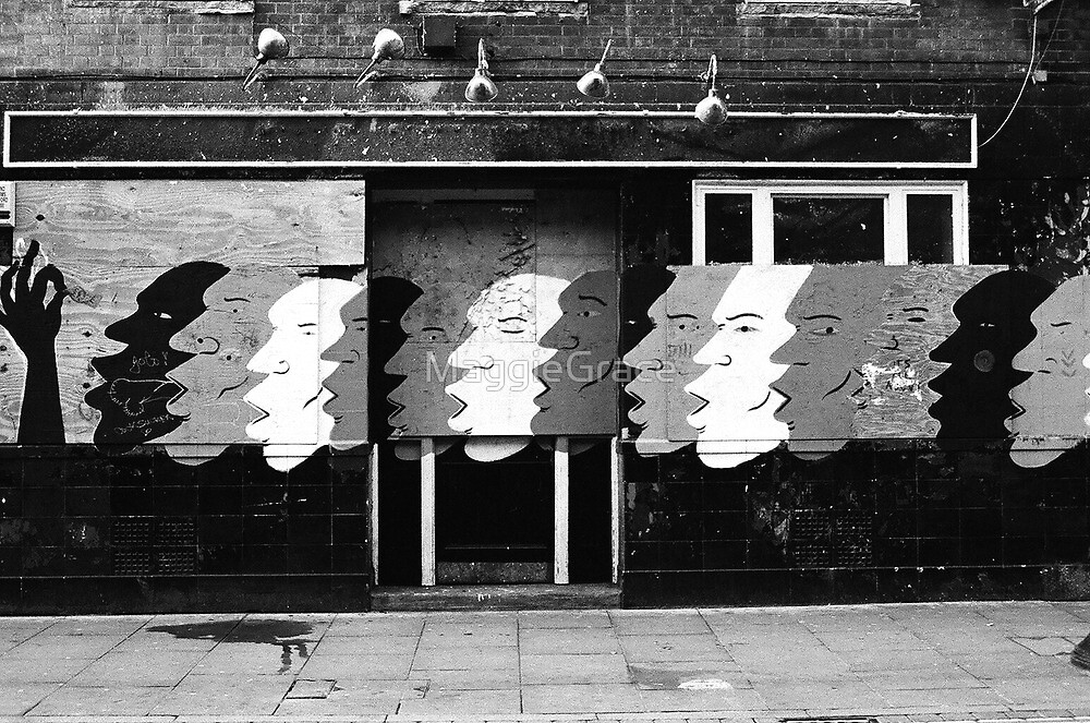 Brick Lane Graffiti London by MaggieGrace
