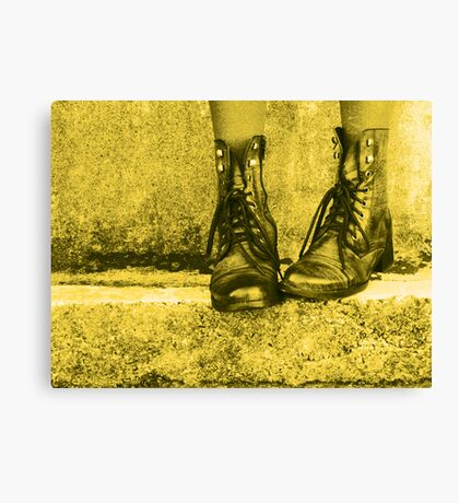Tough Love! Canvas Print